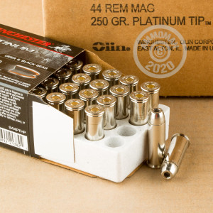 Photo of 44 Remington Magnum JHP ammo by Winchester for sale at AmmoMan.com.