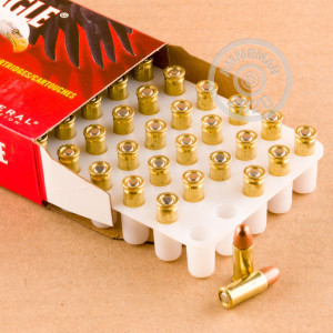 An image of .25 ACP ammo made by Federal at AmmoMan.com.