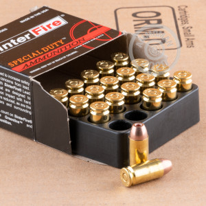 Image of .40 Smith & Wesson ammo by SinterFire that's ideal for home protection.