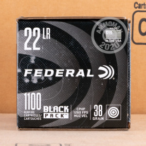Photo of .22 Long Rifle ammo by Federal for sale.