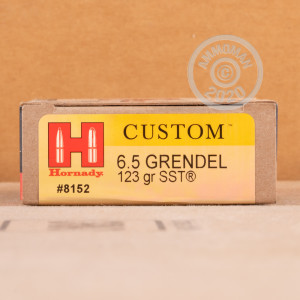 Image of 6.5 Grendel rifle ammunition at AmmoMan.com.