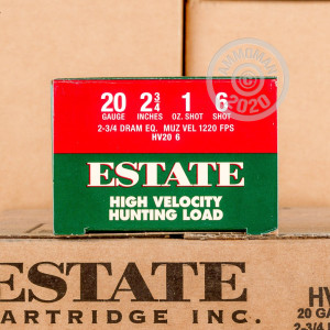 Great ammo for heavy game hunting, these Estate Cartridge rounds are for sale now at AmmoMan.com.