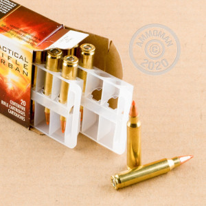 Image of the 223 REMINGTON FEDERAL TACTICAL TRU NOSLER 55 GRAIN PT (500 ROUNDS) available at AmmoMan.com.