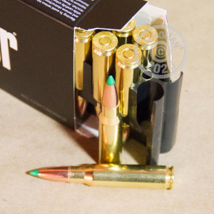 Image of Nosler Ammunition 308 / 7.62x51 rifle ammunition.