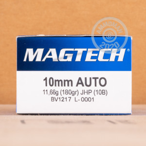 An image of 10mm ammo made by Magtech at AmmoMan.com.