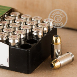 Photo of .45 Automatic JHP ammo by Remington for sale at AmmoMan.com.