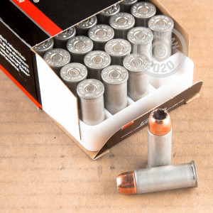 A photograph of 1000 rounds of 200 grain 44 Special ammo with a JHP bullet for sale.