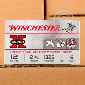 Photograph of Winchester 12 Gauge #6 shot for sale at AmmoMan.com