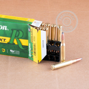 An image of 270 Winchester ammo made by Remington at AmmoMan.com.