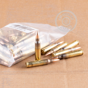 A photograph of 50 rounds of Not Applicable 223 Remington ammo with a Unknown bullet for sale.