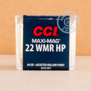 .22 WMR ammo for sale at AmmoMan.com - 500 rounds.