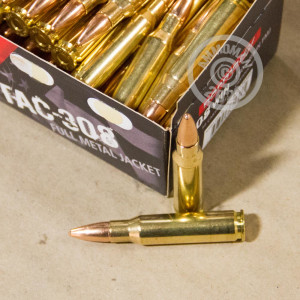 A photo of a box of Norma ammo in 308 / 7.62x51.