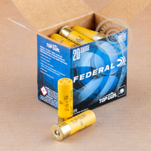 Photograph of Federal 20 Gauge #9 shot for sale at AmmoMan.com