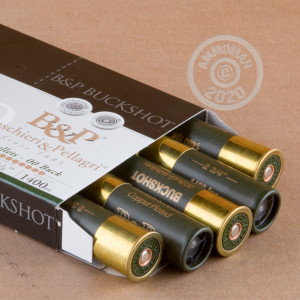 Photograph of Baschieri & Pellagri 12 Gauge 00 BUCK for sale at AmmoMan.com