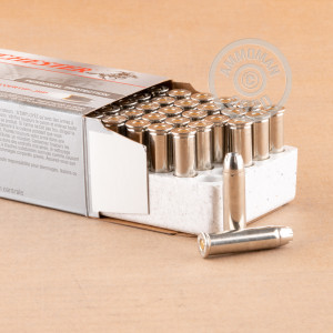 Image of Winchester 357 Magnum pistol ammunition.