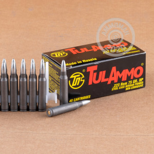 Image of the 223 REMINGTON TULA 75 GRAIN HOLLOW POINT (1000 ROUNDS) available at AmmoMan.com.