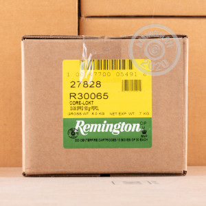 Image of 30.06 Springfield ammo by Remington that's ideal for big game hunting, whitetail hunting.