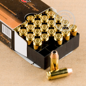 Photo of 10mm JHP ammo by PMC for sale at AmmoMan.com.