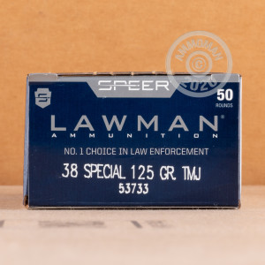 An image of 38 Special ammo made by Speer at AmmoMan.com.