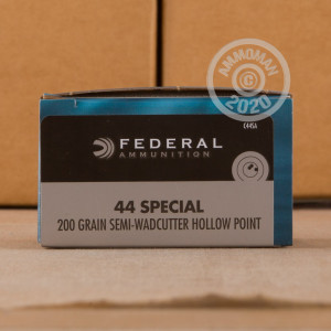 Image of 44 Special ammo by Federal that's ideal for home protection, training at the range.