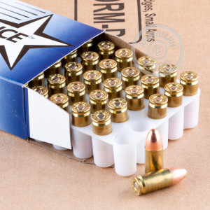 Image of Independence 9mm Luger pistol ammunition.