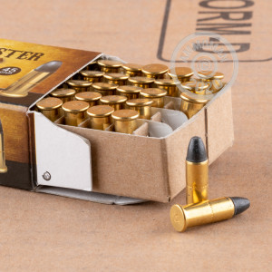 22 Winchester Automatic ammo for sale at AmmoMan.com - 500 rounds.