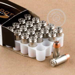 An image of .40 Smith & Wesson ammo made by Speer at AmmoMan.com.