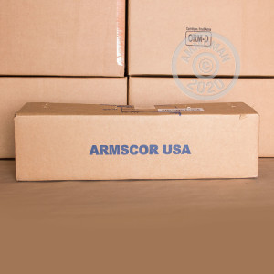 Photo of 38 Super FMJ ammo by Armscor for sale at AmmoMan.com.