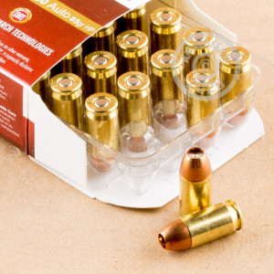 Photo of .380 Auto JHP ammo by Dynamic Research Technologies for sale at AmmoMan.com.