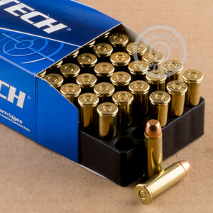 A photo of a box of Magtech ammo in 38 Special.