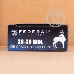Photo of 30-30 Winchester JHP ammo by Federal for sale.