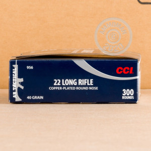 Photo of .22 Long Rifle ammo by CCI for sale.