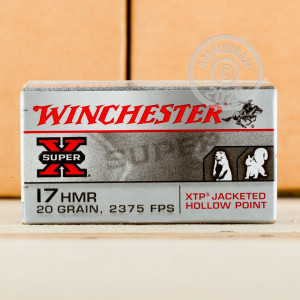 17 HMR ammo for sale at AmmoMan.com - 1000 rounds.