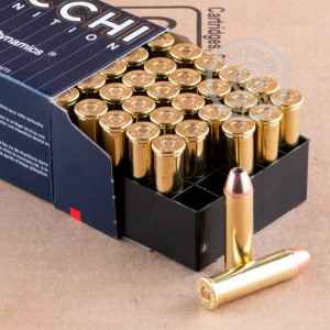Photo of 357 Magnum semi-jacketed hollow-Point (SJHP) ammo by Fiocchi for sale at AmmoMan.com.