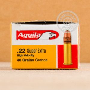 ammo made by Aguila in-stock now at AmmoMan.com.