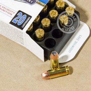 Photo of 38 Super JHP ammo by Corbon for sale at AmmoMan.com.