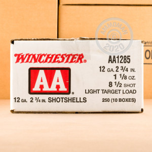 Photograph of Winchester 12 Gauge #8.5 shot for sale at AmmoMan.com