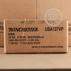 #7.5 shot shotgun rounds for sale at AmmoMan.com - 100 rounds.