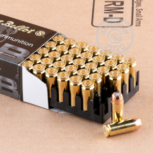 Image of 10mm ammo by Sellier & Bellot that's ideal for home protection.