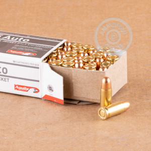 Photo of .25 ACP FMJ ammo by Aguila for sale at AmmoMan.com.