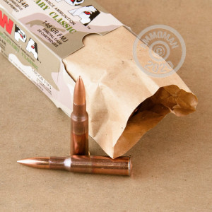 Photo of 7.62 x 54R FMJ ammo by Wolf for sale.
