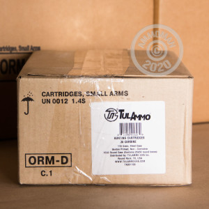 A photo of a box of Tula Cartridge Works ammo in .30 Carbine.