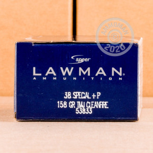 Photo of 38 Special TMJ ammo by Speer for sale at AmmoMan.com.