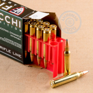 Photo detailing the .223 REMINGTON FIOCCHI 55 GRAIN PSP (200 ROUNDS) for sale at AmmoMan.com.