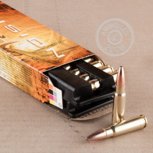Image of 7.62 x 39 ammo by Federal that's ideal for home protection.