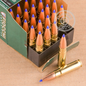 Photo detailing the 300 AAC BLACKOUT FIOCCHI EXTREMA 125 GRAIN SST (25 ROUNDS) for sale at AmmoMan.com.