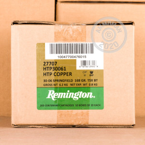 Photo of 30.06 Springfield TSX ammo by Remington for sale.