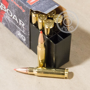 Image of Hornady 308 / 7.62x51 rifle ammunition.