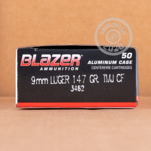 Photo of 9mm Luger TMJ ammo by CCI for sale at AmmoMan.com.