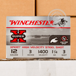 #3 shot shotgun rounds for sale at AmmoMan.com - 25 rounds.